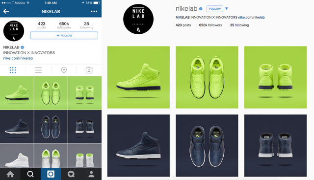 instagram s new design has bigger images and room for ads